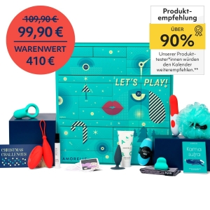 Amorelie Adventskalender 2021 – Das Original nur 79,92€ inkl. Versand